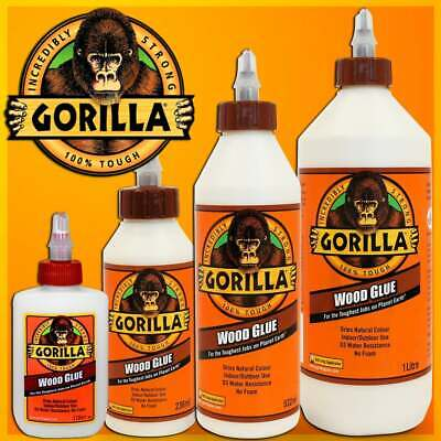 GORILLA WOOD GLUE 🦍 Hard-Working Water-Resistant Anti-Clog 🦍 Industry Trusted