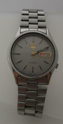Vintage Stainless Steel SEIKO 7S26 - 3100 Gents Day Date Automatic Watch (LO31
