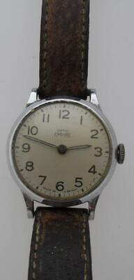 Vintage Steel Smiths Empire Manual Wind Up Wristwatch (PT51