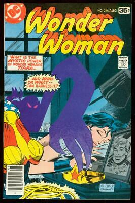 Wonder Woman #246 1978-Dc Comics-Mystic Powers Vf/nm