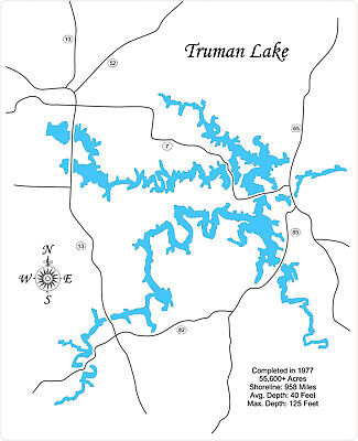 LAKE DALE HOLLOW laser cut wood map - $124.99   PicClick Kentucky Road Map Laser Cutter on