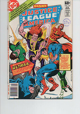 Justice League Of America 153 Very Fine+ 1978 Dc Bronze Age Comic