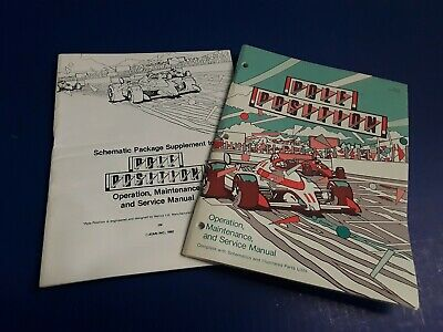 Pole Position by Atari Video Arcade Game Manual & Schematics