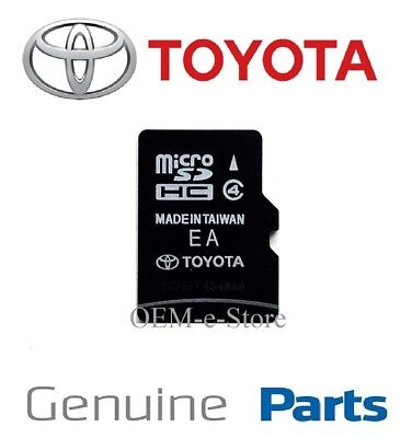 2013 2014 2015 2016 2017 Toyota Camry Tacoma Navigation Micro SD Card US CAN Map
