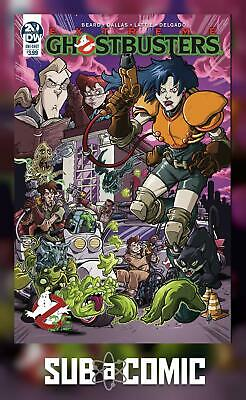 GHOSTBUSTERS 35TH ANNIVERSARY EXTREME GHOSTBUSTERS (IDW 2019 1st Print) COMIC