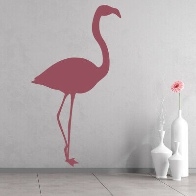 Flamingo Bird Wall Sticker WS-33495