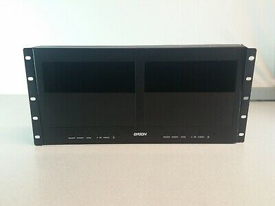Orion Images Rack Mount Dual LCD
