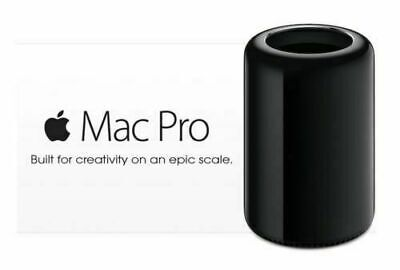 late 2013 Search For Flights Apple Mac Pro 6.1 6-core 3.5ghz 64gb Ram 2tb Pcie Ssd Os X Mojave