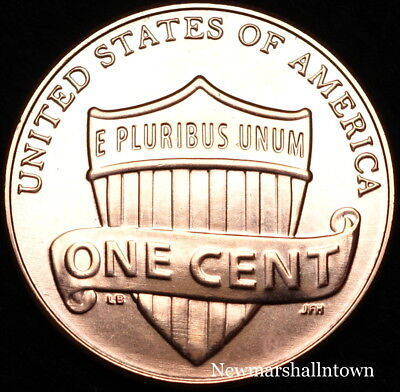 2019 P Lincoln Shield Cent ~ Uncirculated U.S. Mint Coin from a Bank Roll