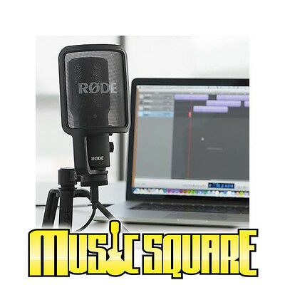 Rode NTUSB Versatile Studio-Quality USB Microphone NT-USB NEW w/ SAME DAY SHIP!