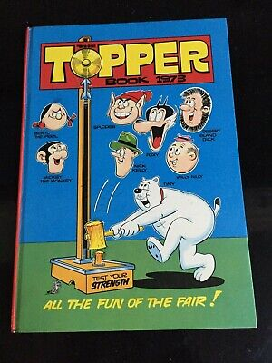 The TOPPER BOOK (Annual) DC Thomson & Co. Beryl, Mickey, Foxy. Vintage VF+ 1973!