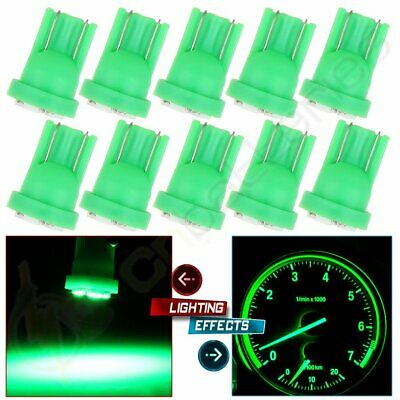 10Pcs T10 W5W 194 168 259 555 6SMD LED Bulbs Green Trunk Light For Nissan/Toyota