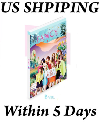 US SHIPPING Twice FANCY YOU Album B Ver. CD+Poster+Book+Card+etc+Gift