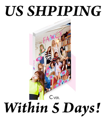 US SHIPPING Twice FANCY YOU Album C Ver. CD+Poster+Book+Card+etc+Pre-Order+Gift