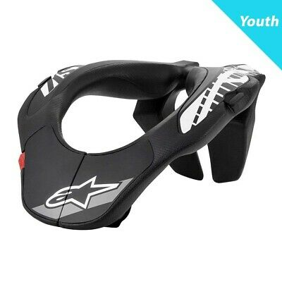 Alpinestars 2020 YOUTH MX Motocross Armour Neck Support - Black/White