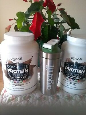 Super  Sale Organifi Complete Protein (1215g) Van or Choc 30 Day New shipment