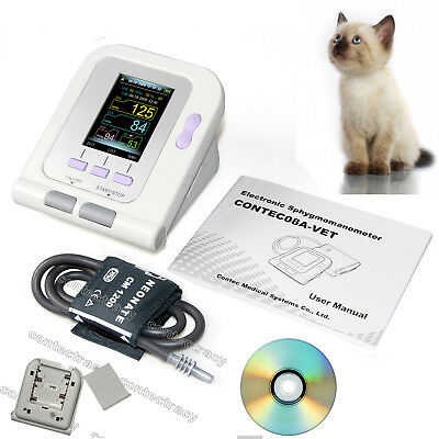 CONTEC Veterinary Blood pressure monitor Vet Using NIBP MonitorCuff+SW Animals