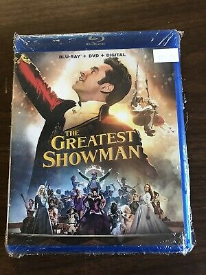 The Greatest Showman Jackman 2018 Movie Blu Ray Only No DVD Or Digital Copy