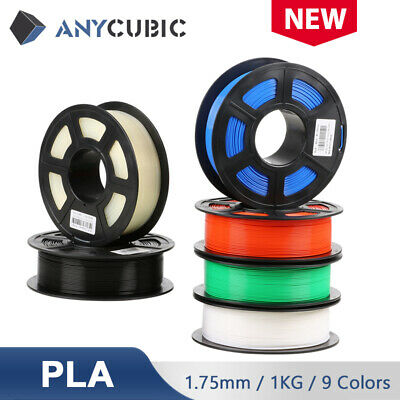 US Stock ANYCUBIC 3D Printer Filament - PLA - 1.75mm - 1KG - Various Colours