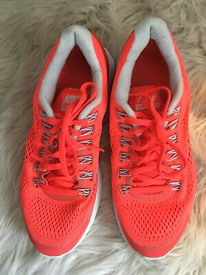best website b342c c653c Nike Lunarglide 4 Women s Premium Orange Tennis Running Shoes Trainers Size  8.5