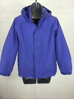 Girl's Child's Regatta Purple Zip Up Hooded Lightweight Jacket Age 11-12 Yrs