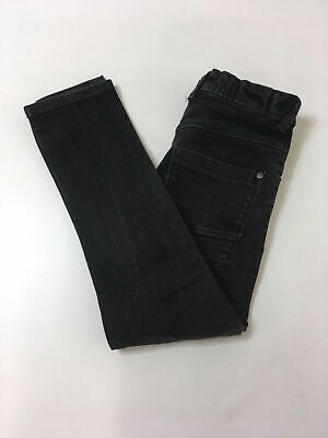 Boys/Kids Next Distressed Black Jeans Size Uk 9 Yrs