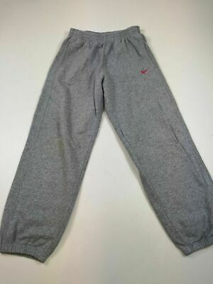 Kids Girls Nike Light Grey Joggers Track Suit Bottoms L Large 12-13 Yrs