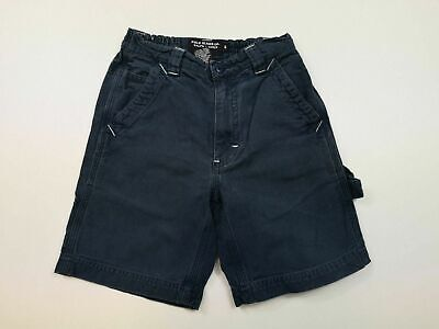 Boys Polo Ralph Lauren Straight Fit Blue Cargo Shorts Size Uk 4 Yrs