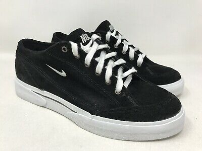 check out fc2c0 d0b47 Vintage Nike GTS Suede Black Shoes Sneakers Black Swoosh Excellent Condition  7.5