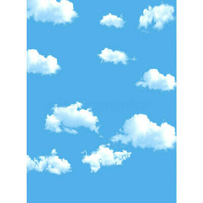 5x7f Sky Cloud Photography Backdrop Screen Background Studio Props 2.1mx1.5m UK