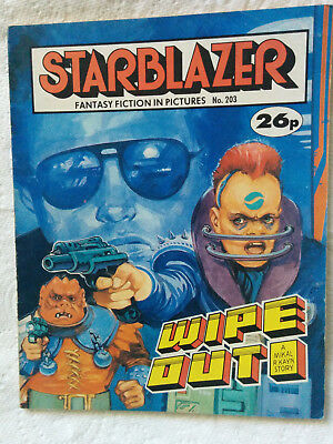 """Starblazer #203 """"WIPE OUT"""" published by DC Thomson"""