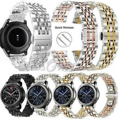 Stainless Steel Strap Watch Band for Samsung Galaxy Watch 46mm /Active/Sport/ S3