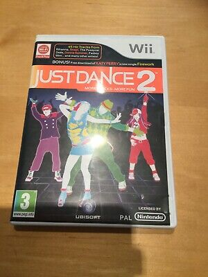 Nintendo Wii Just Dance 2 Game