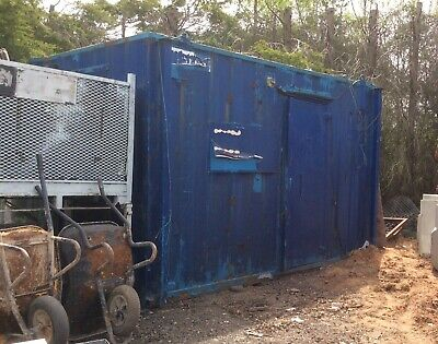 portable site cabin Approx 12ft X 8ft