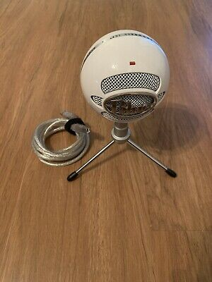 Blue Microphones Snowball Ice Condenser Microphone - White