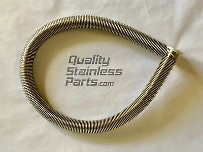 """KF-25 SS304 Bellows Hose 800mm  NW25 Vacuum Flexible 31"""" inches KF25"""