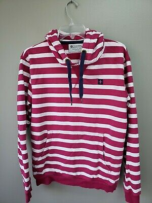Girls Hoodie Youth Mountain Warehouse Striped Country to Coast Size 12