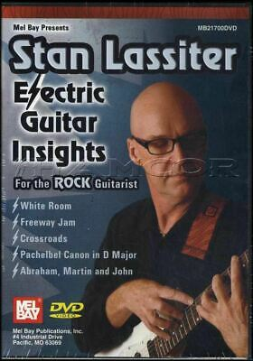 Stan Lassiter Electric Guitar Insights for the Rock Guitarist Tuition DVD