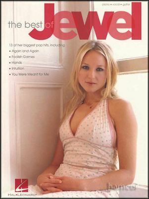 The Best of Jewel Piano Vocal Guitar Sheet Music Book
