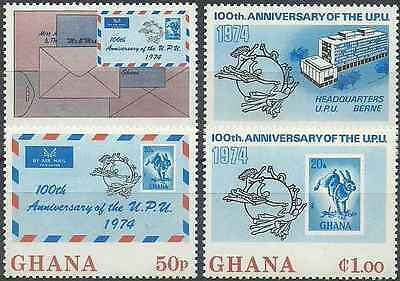 Timbres Ghana 495/8 ** lot 851