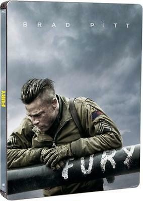 FURY - STEELBOOK - Blu-Ray France VF INCLUSE et Digital Copie (COMME NEUF)