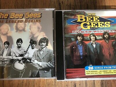2 X Early The Bee Gees Cd Albums