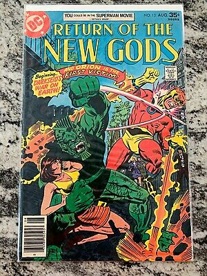 RETURN OF THE NEW GODS #13 First DC Issue Special Comic Book