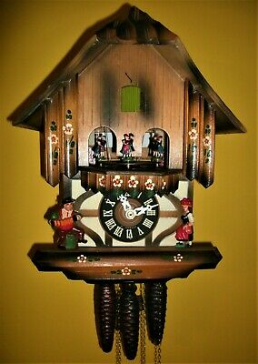 Vintage Classic SCHMECKENBECHER Musical Cuckoo clock #71-*Free USA Shipping!*