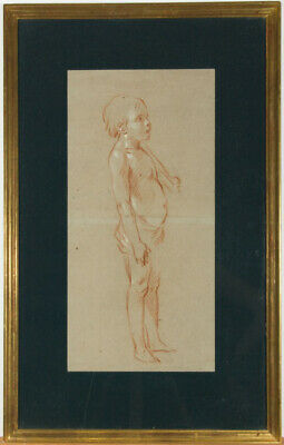 Follower of Antoine Watteau - Early 20th Century Pastel, Study of an Infant