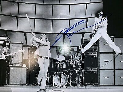 Autographe de Pete Townshend THE WHO - signed in person