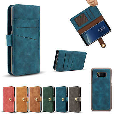 Magnetic Flip Stand Card Leather Wallet Case Cover For Samsung Galaxy S8