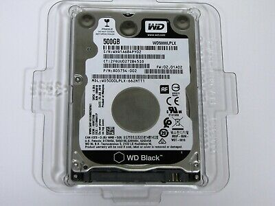 NEW 500GB GENUINE Western Digital LAPTOP HDD - WD5000LPLX-66ZNTT1 - OEM