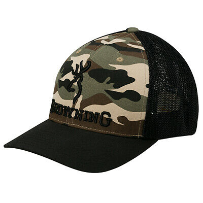Browning Cap Branded, Camouflage, Small/Medium 308375292