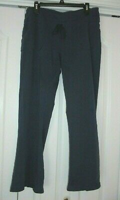 1b5d1ea473 XERSION Loose Fit Stretchy Navy Elastic Waistband Mid Rise Athleisure Pants  Sz L